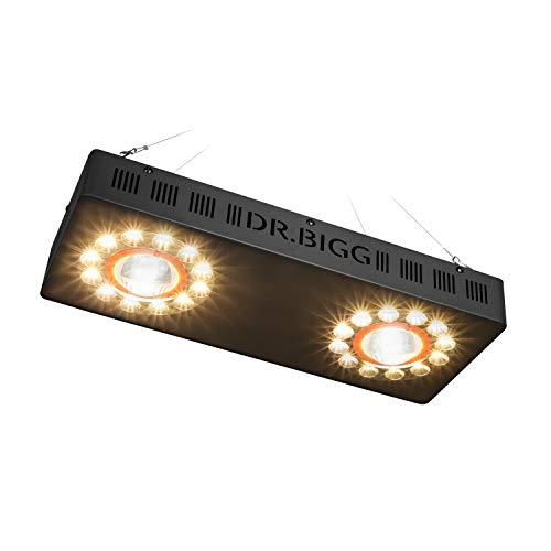 (Updated) 2000W Full Spectrum LED Grow Lighting Adjustable...