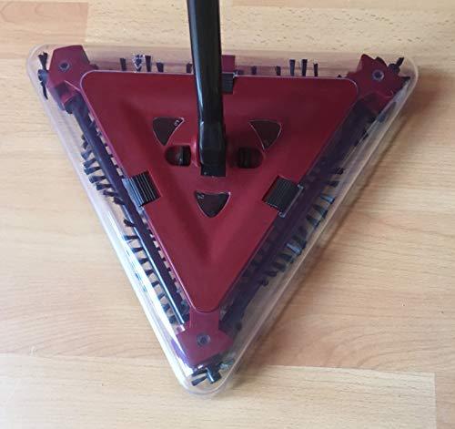 Flexi Sweeper, Akku-Delta Kehrbesen 4 tlg, kabellose elektrische Kehrmaschine, ideal für Bodenbeläge aller Art - 4