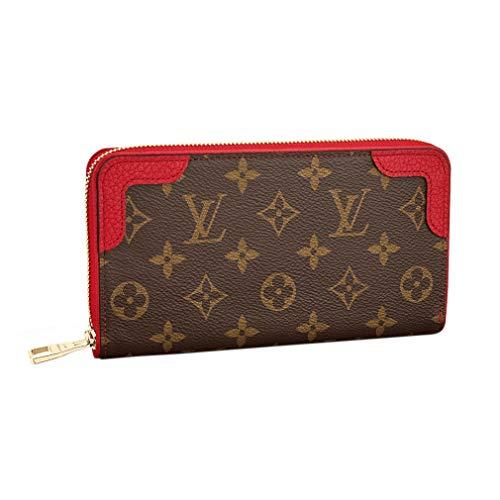 Louis Vuitton Monogram Zippy Wallet Retiro Cherry Article: M61854 Made in France