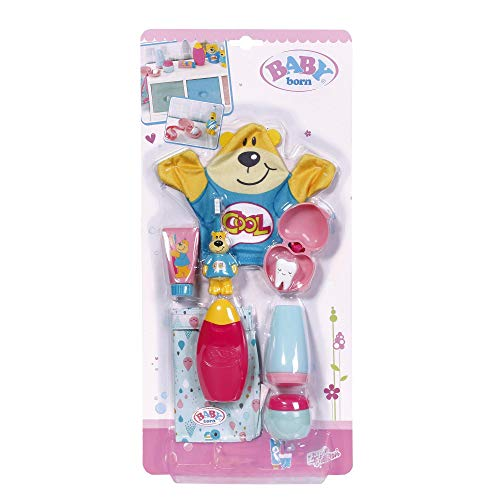 Zapf Creation 827116 BABY born Bath Wash & Go Badezimmer Set Puppenzubehör 43 cm, bunt