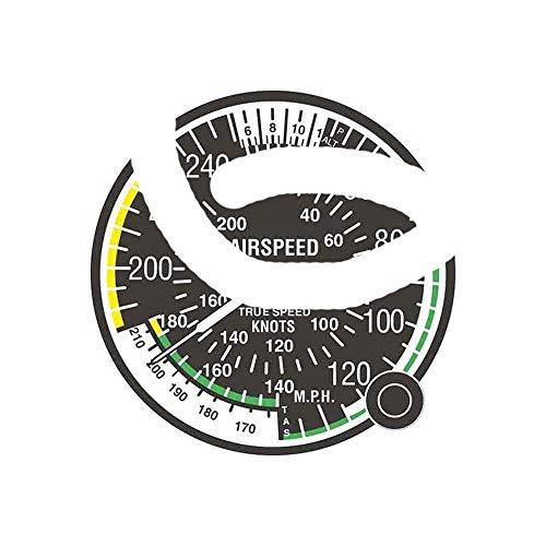 13Cm X 13Cm voor Luchtsnelheid Indicator Luchtmacht Mode Decal Zonnescherm Auto Reparatie Sticker Bumper Decoratie