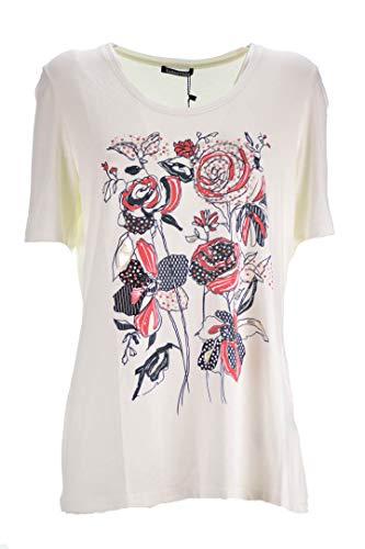 LUISA VIOLA T-Shirt Bianco Donna Taglie comode (Elena Miro) 37