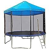 GOLDEN MANGO Trampoline Canopy, Fitness Backyard Trampoline Tent...