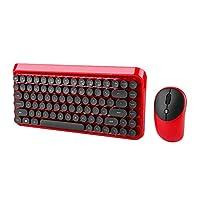 ワイヤレスマルチメディアキーボードマウス、2.4Gキーボードマウス、調整可能なDPIマウス、サスペンションボタン84キーキーボード、快適、応答性、リリース疲労
