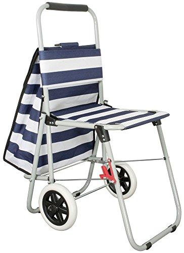 KoTaRu 35140 NORDSSE Sitz Einkaufstrolley Einkaufswagen Treppensteiger Shopper