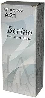 Silver Ash Grey Permanent Hair Dye Cream Lolane Goth by Berina