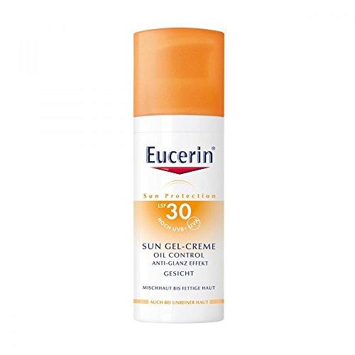 Eucerin Oil Control Face Sun Gel-Creme LSF 30, 50 ml Creme