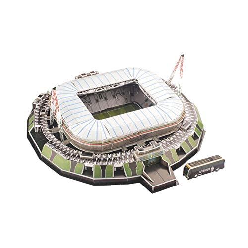 3D Puzzle - Allianz Stadium Turin - 3D Puzzle Bausatz Stadion für Kinder Erwachsene