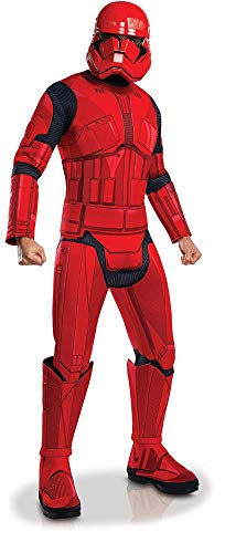Rubie's Official Disney Star Wars Ep 9, Red Stormtrooper Deluxe Adult...