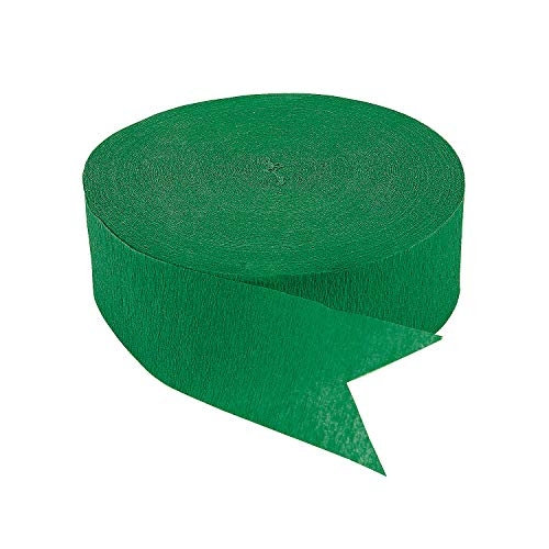 Green Jumbo Streamers - Party Decor - 1 Piece