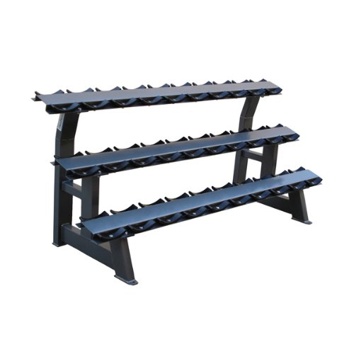 Bodymax 3 Tier Dumbbell Rack with Saddles - CF495-15