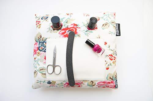Manicure Kussen, Nagel Kussen In Rose Tuin Print