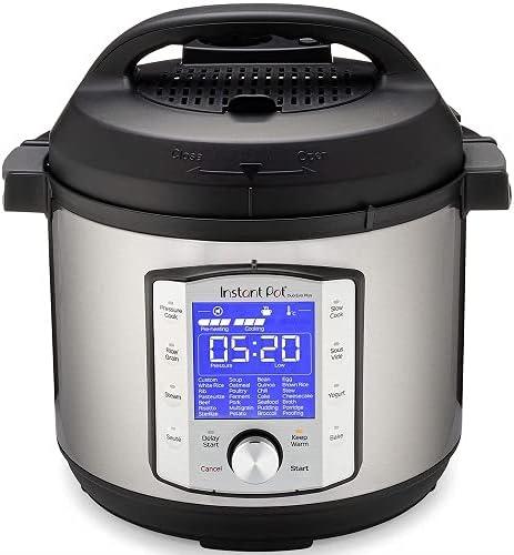 Instant Pot Duo Evo Plus 10-in-1, 5.7L Electric Pressure Cooker, Sterilizer, Slow Cooker, Rice Cooker, Grain Maker, S...