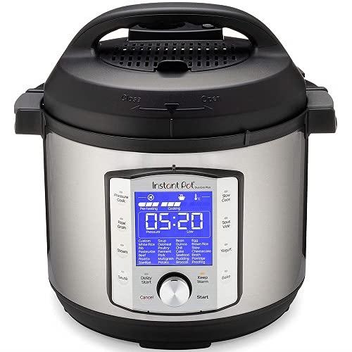 Instant Pot Autocuiseur électrique DUO EVO PLUS 5,7 L. 10 fonctions en 1: stérilisateur, mijoteuse, cuiseur à riz, machine à grains, cuiseur vapeur, sauté