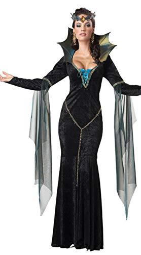 Gbcyp Dames Gotische Victoriaanse Vampier Kostuum Halloween