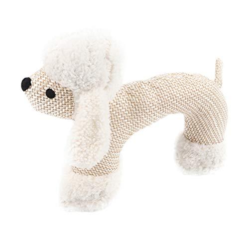 YSoutstripdu Chew Bite Toy del Gato, Forma de Oveja Mono Elefante Dientes de Peluche de Limpieza Perro Squeaker Pet Toy Sheep