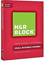 H&R Block Premium & Business Tax Software 2016 Federal + State