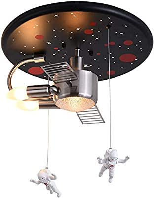 VISTANIA Luz de Techo Astronauta Spaceman Lámpara Colgante Moderna ...