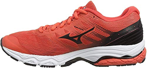 Mizuno Wave Prodigy 2, Scarpe Running Donna, Arancione (Hot Coral/Blk 10), 41 EU