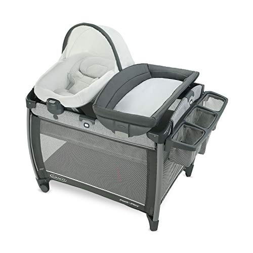 Graco Pack #039N Play Quick Connect DLX Playard | Includes Portable Seat amp Rapid Remove Fabrics for Easy Cleaning Ellison