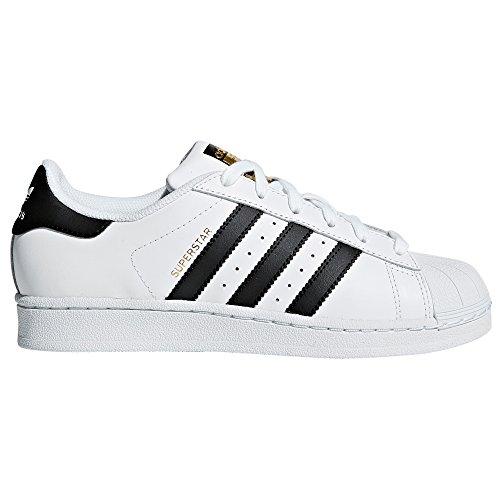 Superstar. Zapatillas Blancas para Mujer. Mitico Modelo de adidas de los 70