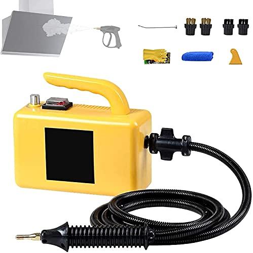 WSVULLD Limpiador de vapor 20s Calor rápido, Limpiadores de vapor de mano Limpiadores de alumbrado Parada listos para usar, vaporizador de uso pesado multipropósito para acondicionadores de aire, camp