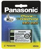 Panasonic Rechargeable HHR-P104 3.6V 650mAh Ni-MH Battery for Panasonic Cordless Phone (830 mAH)