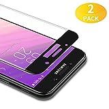 BANNIO Protector de Pantalla Samsung Galaxy A5 2017,[2 Unidades] 3D Cobertura Completa Cristal Templado para Samsung Galaxy A5 2017 con Kit de Instalación,9H Dureza,Sin Burbujas