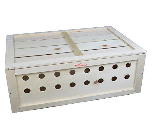 FINCA CASAREJO Caja Transporte Animales tamaño S. Transportín de Madera para perdices,...