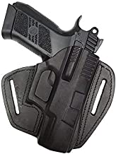 VlaMiTex U5 Leather Quick-Draw Holster for CZ 75 P-07 Duty