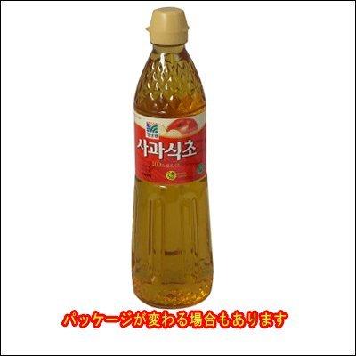 清静園 りんご酢 900ml■韓国食品■韓国調味料■清静園