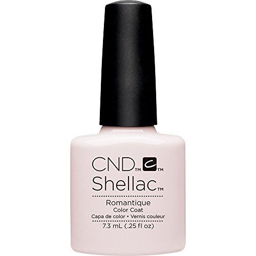 CND Shellac CNDNEWCAT109 - Smalto in gel romantico, colore nero