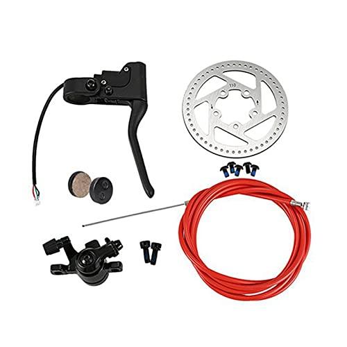 CAIFEIYU Freno de Disco de neumáticos de Scooter eléctrico 110 mm de Disco Ajuste para Xiaomi M365 Piezas de Repuesto Accesorios DIY