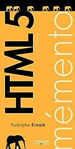 Mémento HTML 5