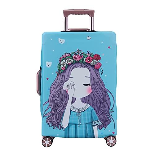 LEAFOREST Spandex elástico resistente al agua cubierta protectora de la maleta del viaje se adapta...