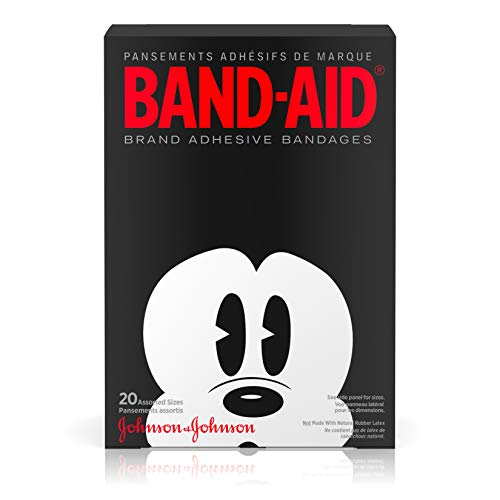 Band-Aid Decorative Adhesive Bandages, Disney's Mickey Mouse, Assorted, 20 Count by Band-Aid
