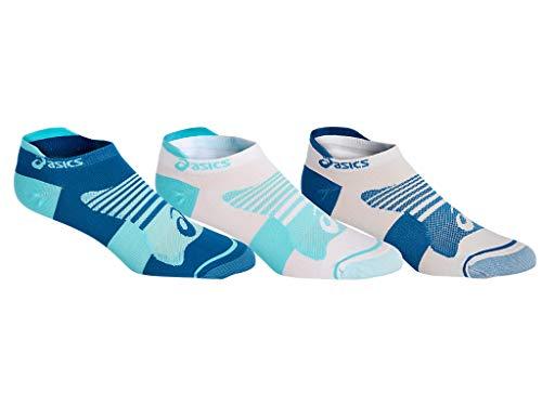 ASICS Damen W Quick Lyte Plus 3pk Socken, Ice Mint/Deep Sapphire Pop, Medium
