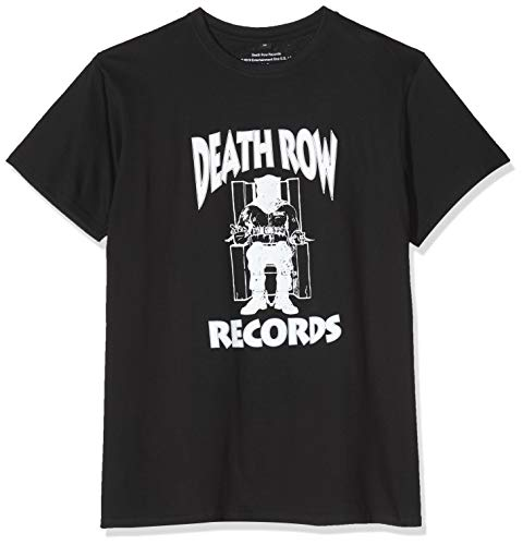 MERCHCODE Herren Death Row Logo T-Shirt Black, S