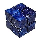 SAMTITY Infinity Cube, Unendlicher Würfel Spielzeug, Unendlicher Flip Würfel Dekompression...