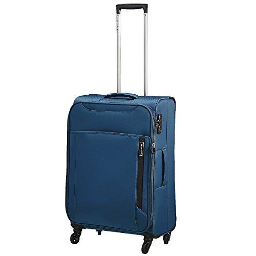 March 15 Trading Cloud 4-Rollen-Trolley 67 cm Petrol Blue