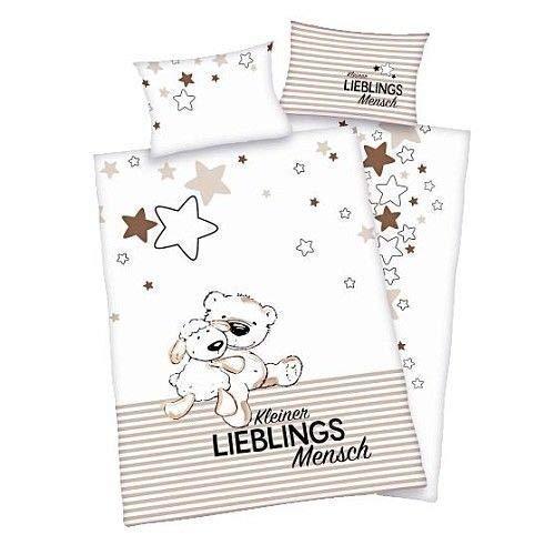 Herding Enfants Literie de Flanelle Jana Lieblingsmensch 100 X 135 Cadeau Neuf - All-In-One-Outlet-24