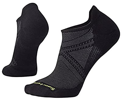 Smartwool Men's PhD Run Light Elite Micro Socks (Black) Large