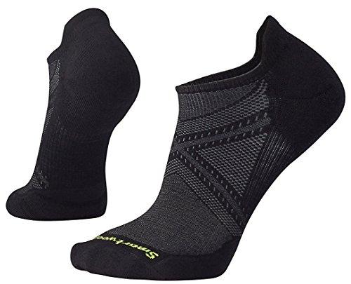 Smartwool Socken Strümpfe PhD Run Light Elite Micro, Black, M