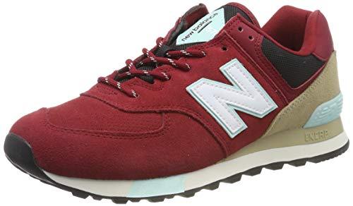 New Balance Herren Sneaker, Rot (Red Red), 37 EU