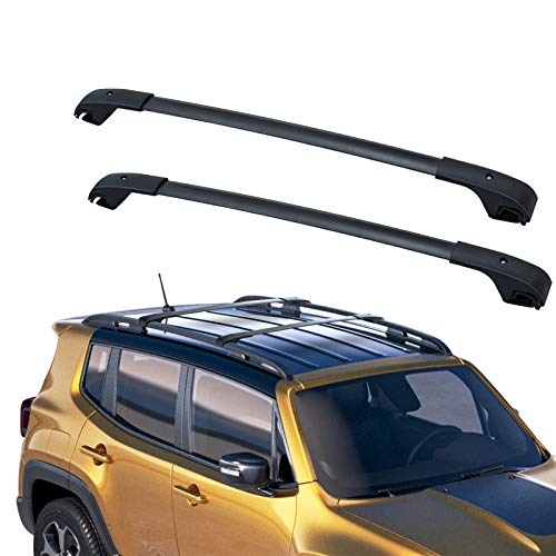 44.9 Universal Car Rooftop Cargo Carrier Luggage Rack Crossbars with Anti-Theft Locking Mechanism Fit for Car Vehicles SUVs Ejoyous Roof Rack Cross Bar