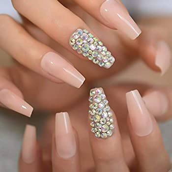 Best nude coffin nails Reviews