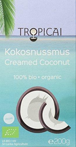 Tropicai - Feines Bio-Kokosmus - Sri Lanka - 600 g (3 x 200 g)
