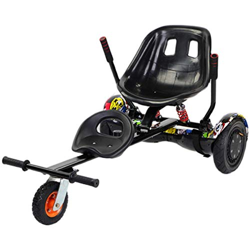 Silla para Hoverboard Universal Hoverboard Asiento Kart Ajustable para Patinete Eléctrico Asiento...