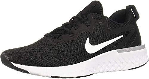 Nike Womens Odyssey React Running Shoes Black/White/Wolf Grey 9.5