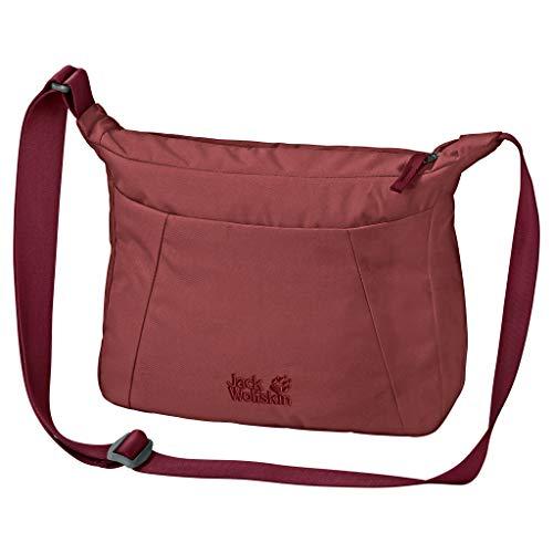 Jack Wolfskin Unisex Valparaiso Bag Schultertasche, Auburn, ONE Size